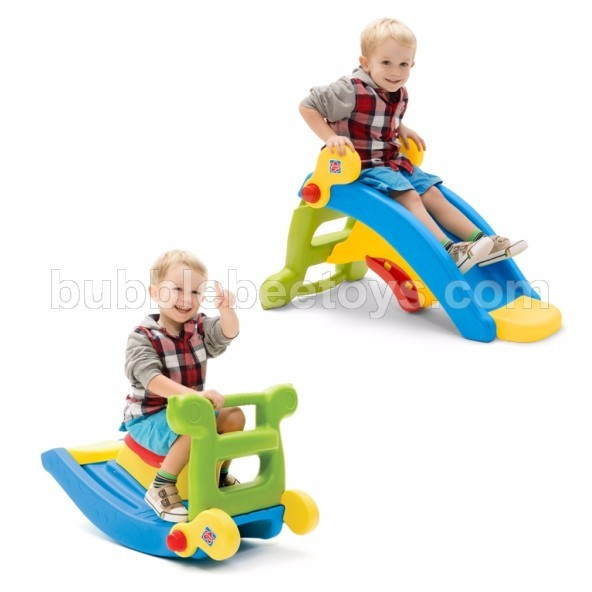 Grow N Up 2in1 Slide to Rocker