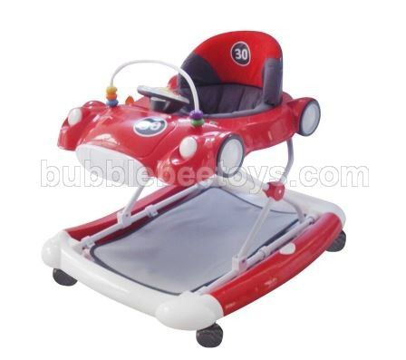 Care Baby Walker 2 In 1 Car - Red