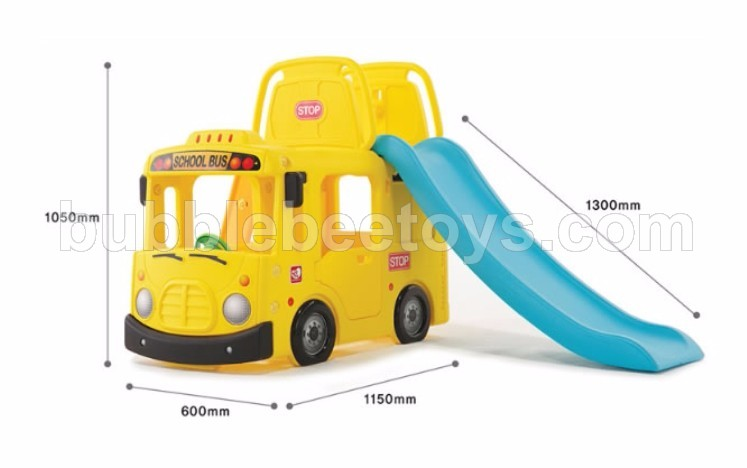 Yaya School Bus 3in 1 Slide